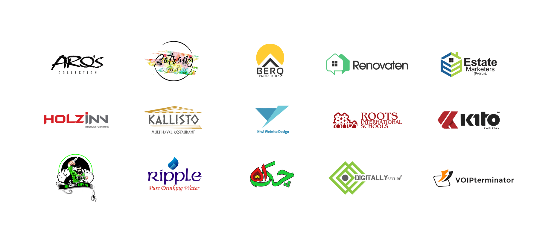 Digitally Up Client Logos - SEO Audit