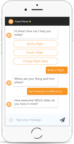 Travel plant Chat Bot image 255x493 - ChatBots