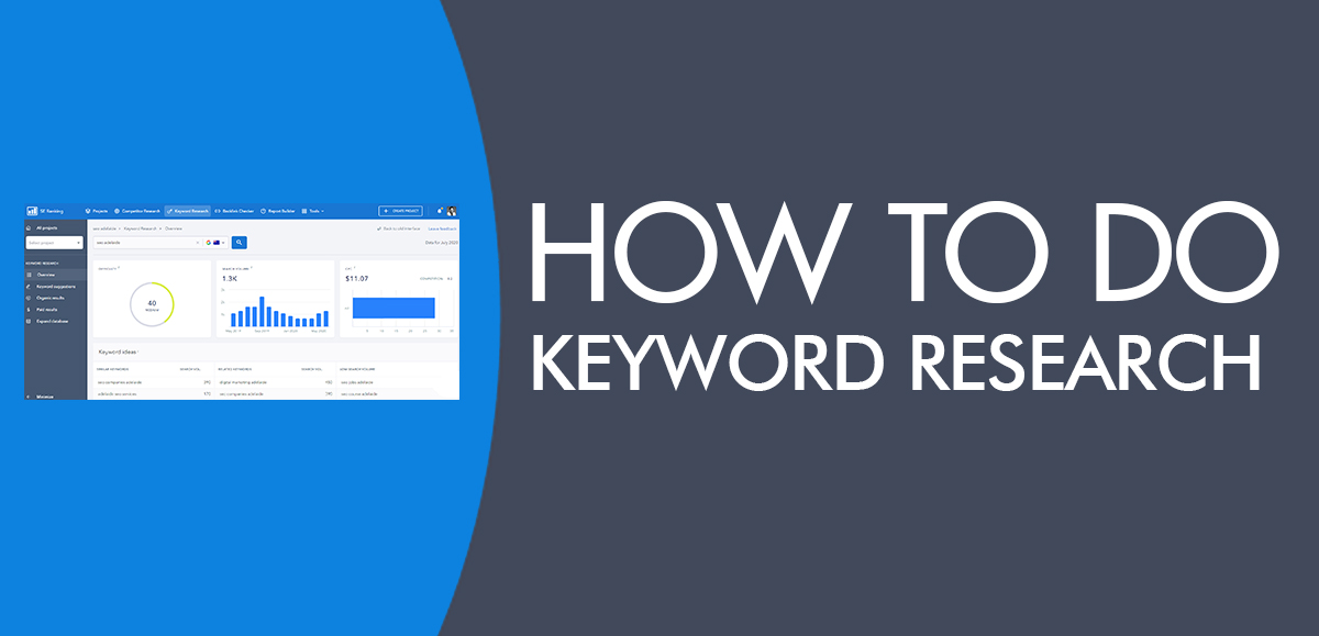 Keyword Research for SEO - How to do Keyword Research for SEO in 3 Easy Steps