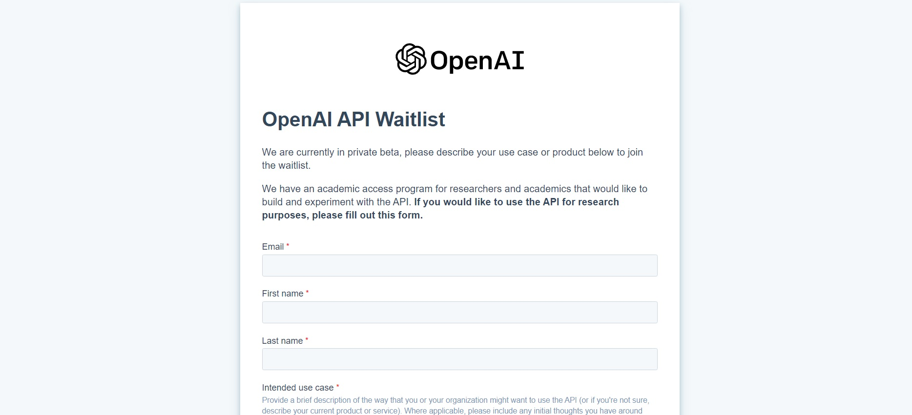 OpenAI API Access - How I Got Access to GPT-3 and How Can You too!
